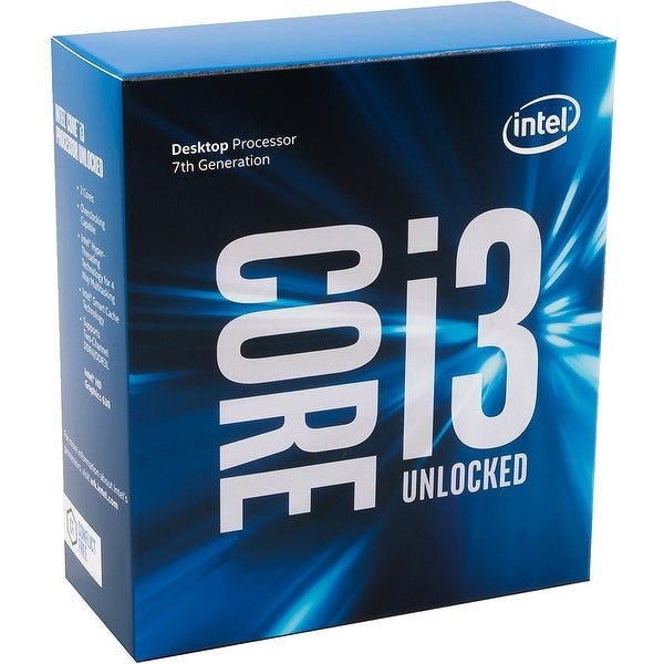 Intel Cpu Processor Bx80677i37350k Ci3-7350Kbox 4.2Ghz 4M S1151 2Cores/4Threads