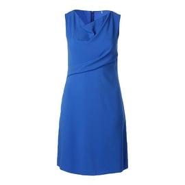Elie Tahari Womens Maize Knit Sleeveless Wear to Work Dress