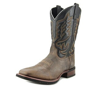 Laredo Stockman   Square Toe Leather  Western Boot