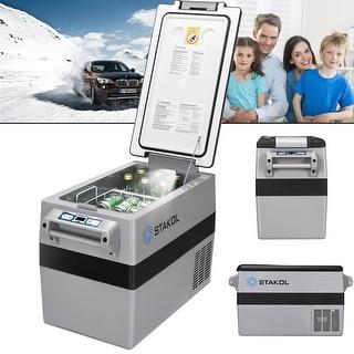 44 Quarts Portable Electric Car Cooler Refrigerator/Freezer Compressor Camping