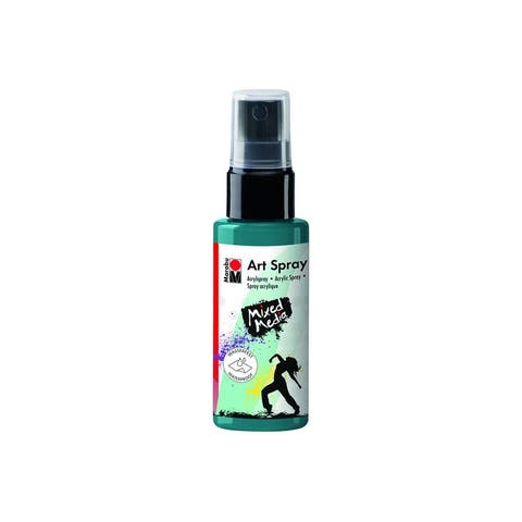12099005092 marabu mixed media art spray 1 7oz petrol
