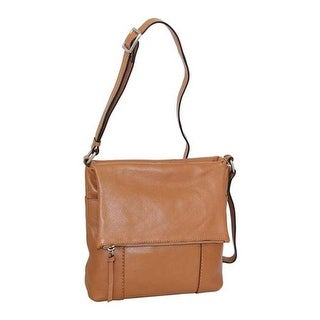 numerousinvariety select for best 2019 authentic Nino Bossi Women's Elsa Leather Crossbody Cognac - US Women's One Size  (Size None) | Overstock.com Shopping - The Best Deals on Messenger Bags