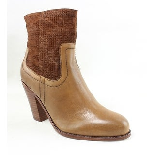 Corso Como Womens Harvest Brown Ankle Boots Size 7.5