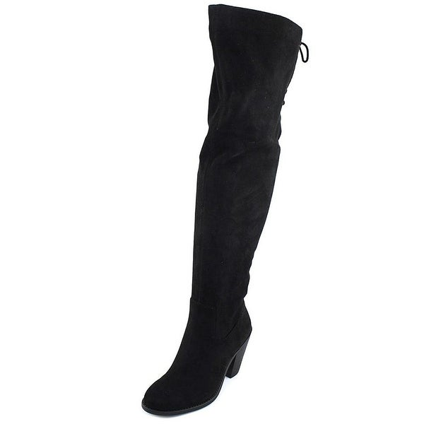Jessica Simpson Womens Coriee Fabric Closed Toe Over Knee Fashion Boots