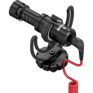 Rode Microphones VideoMicro On-Camera Mic w/ Rycote Lyre Shock Mount