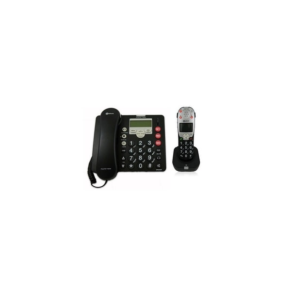 PT-760-2 Amplified DECT Corded Phone with Answering Machine