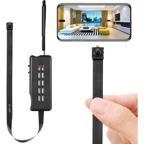 Spy Camera Module Wireless Hidden Camera WiFi Mini Cam HD 1080P - Black - 1