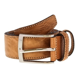 Renato Balestra Y653S TAN Leather Mens Belt