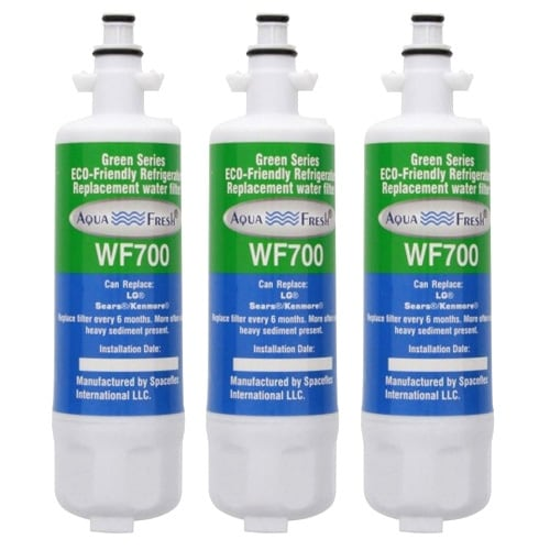 Replacement LG LFXS29766S Refrigerator Water Filter by Aqua Fresh (3 Pack)