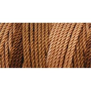 Iris 418076 Nylon Thread Size 18 197 Yards-Multi Brown