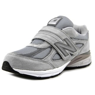 New Balance KJ990 Youth Round Toe Synthetic Gray Running Shoe