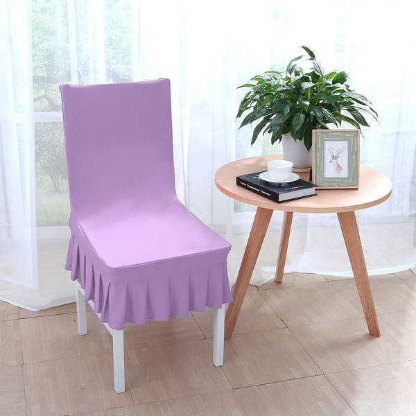 Superb Shop Stretchy Thicken Plush Short Dining Room Chair Covers Bralicious Painted Fabric Chair Ideas Braliciousco