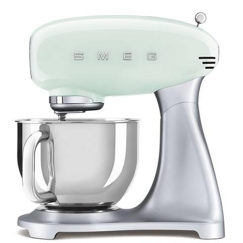 Smeg 50's Retro Style Aesthetic Stand Mixer, Pastel Green