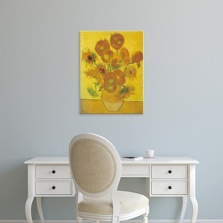 Easy Art Prints Vincent Van Gogh's 'Sunflowers 1888' Premium Canvas Art