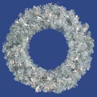 "30"" Silver Wreath Dural 70CL Lts 260T"