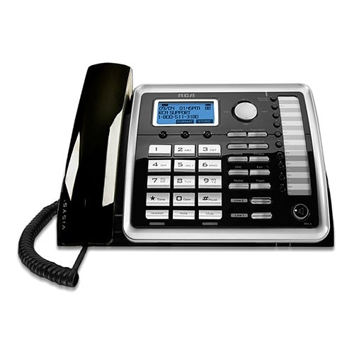 rca visys 25260 dect 6 0 2 line operation wall mountable corded rh overstock com Cordless Phones DECT 6.0 Manual VTech DECT 6.0 User Manual