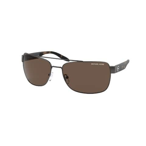 Michael Kors MK1094 123273 65 Matte Gunmetal Man Pillow Sunglasses