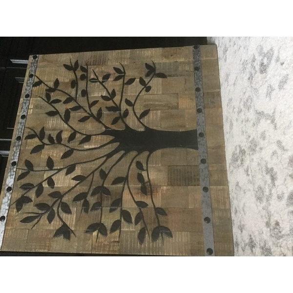 Tree Of Life Wood Wall Panel Free Shipping Today 10165376