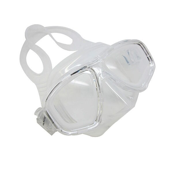 Scuba Pink Dive Mask FARSIGHTED Prescription RX 1/3 Optical Lenses (+2.0) (3 PACK) - Burts Bees - Coconut & Pear Lip Balm Tube | .15 ounce | 3 PACK BUNDLE
