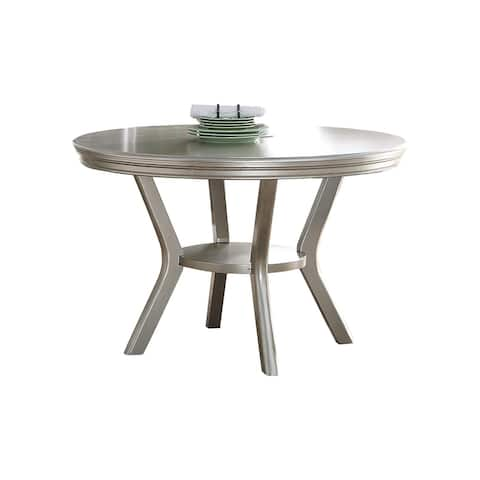 Dining Table in Antique Silver