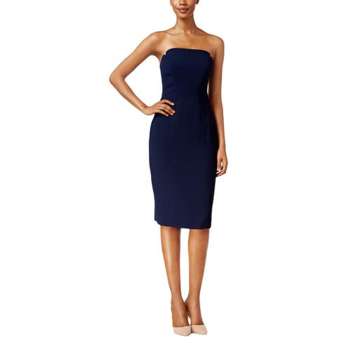 JILL Jill Stuart Womens Cocktail Dress Notched Bust Strapless