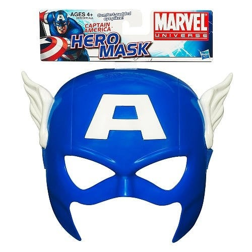 Marvel Universe Captain America Role Play Mask - Blue