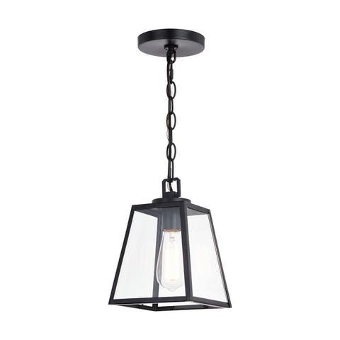 Grant Farmhouse Mini Pendant Ceiling Light Clear Glass