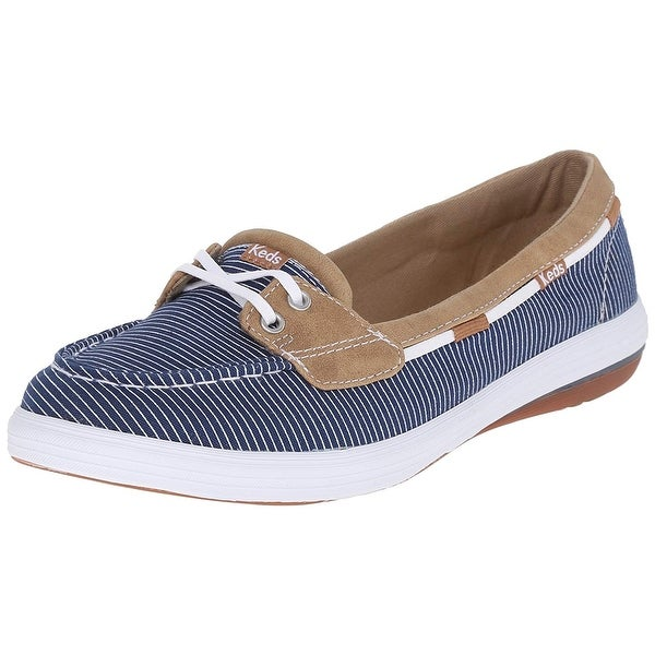 Keds Womens Glimmer Closed Toe Boat Shoes