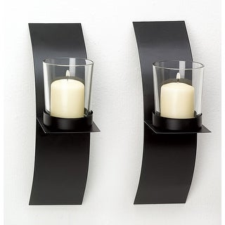 Link to Mod-art Candle Sconce Duo Similar Items in Decorative Accessories