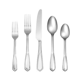 Link to Cambridge Silversmiths Casenovia Mirror 18/0 51 Piece Flatware Set, Service for 8 - 51 Piece Similar Items in Flatware