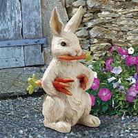 Design Toscano Carotene the Bunny Rabbit Garden Statue