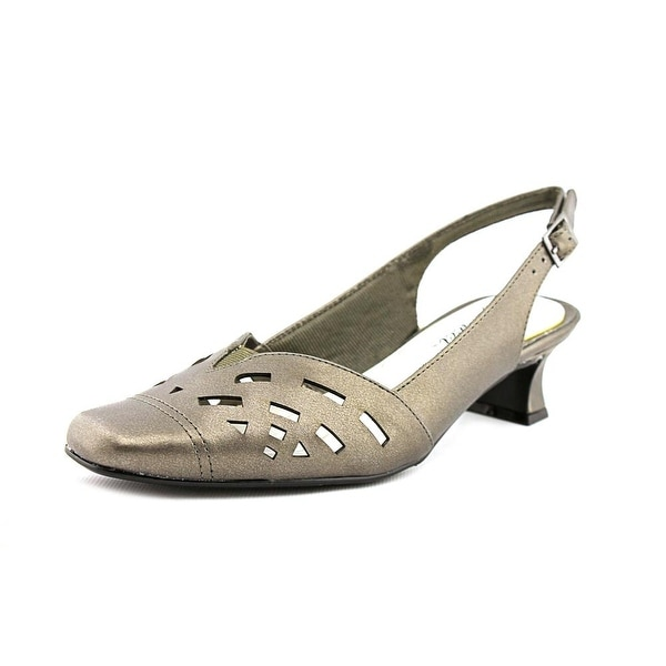Easy Street Adorable Women Pewter Pumps