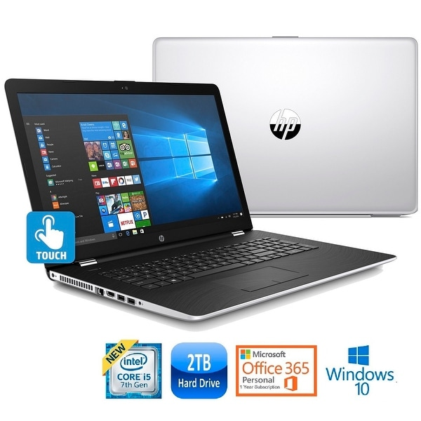 Hp Core I5 7200 2tb 17 3 Touchscreen Office 365 Laptop Certified Refurbished