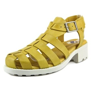 Eric Michael Mykonos Open Toe Leather Gladiator Sandal