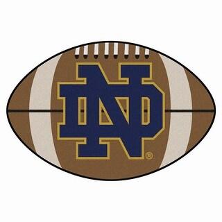 "Notre Dame Football Rug 22""x35"""