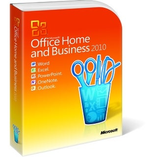 Microsoft Office Home and Business 2010 for Windows