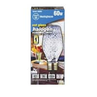 Westinghouse 05018 60 Watt Halogen Cut Glass Specialty Bulb