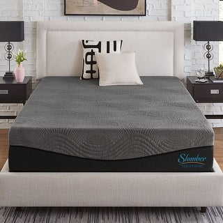 Link to Slumber Solutions Active 12-Inch Charcoal Memory Foam Mattress Similar Items in Mattresses