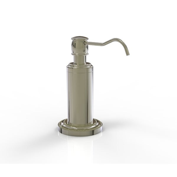 Allied Brass Dottingham Collection Vanity Top Soap Dispenser. Opens flyout.