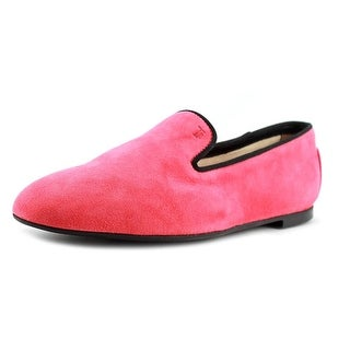 Tod's Gomma Bassa Hm New Pantofola Pointed Toe Suede Loafer