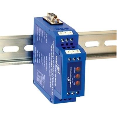 B&B Electronics 485LDRC9 B&B ISO RS232 TO RS485 DB9 DINRAIL - 1 Pack - 1 x  DB-9 Female Serial - 1 x Terminal Block Serial