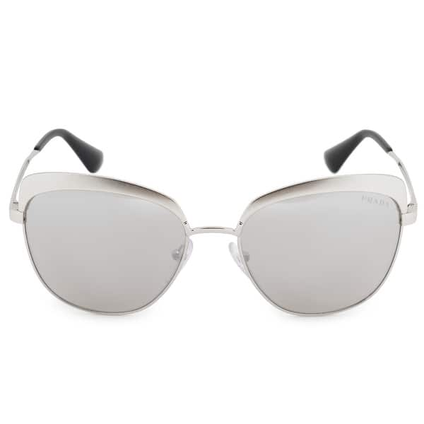 60d0aef304 Shop Prada Cinema Square Sunglasses PR51TS VAR2B0 56 - On Sale ...
