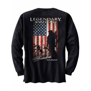 Legendary Whitetails Men's Freedom to Hunt Long Sleeve Tee