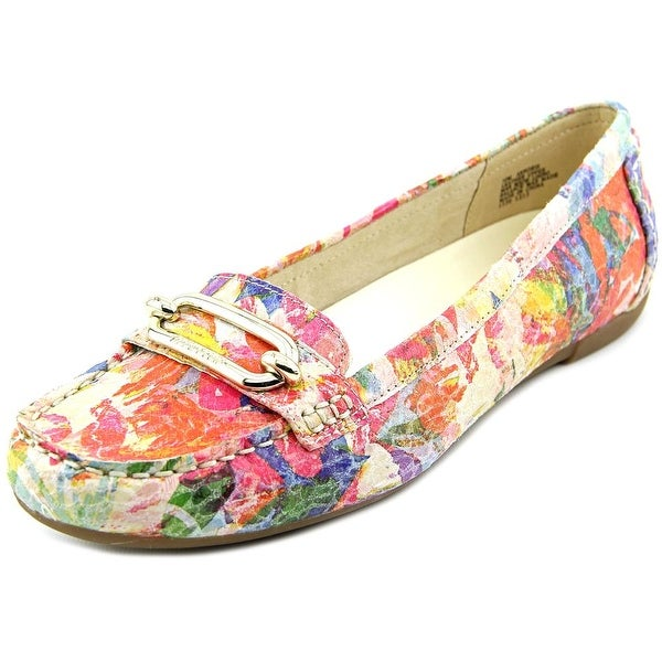 Anne Klein Noris Women Round Toe Leather Multi Color Loafer