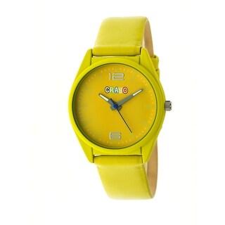 Crayo Dynamic Unisex Quartz Watch
