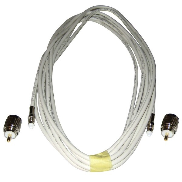 Comrod VHF RG58 Cable w/PL259 Connectors - 12M