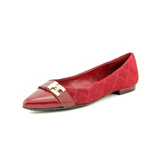 Tommy Hilfiger Katya Pointed Toe Suede Flats