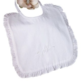 Little Things Mean A Lot Baby Cotton Embroidered Bibs Accessory