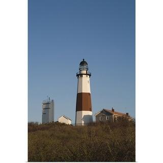 "Link to ""Montauk Point Lighthouse, Montauk, Long Island, New York State"" Poster Print Similar Items in Art Prints"