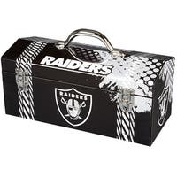 Sainty 79-322 Oakland Raiders NFL Tool Box, 10""